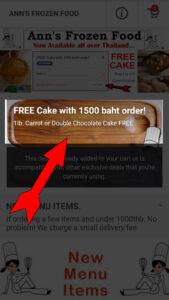 1-To Get Free Cake